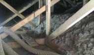 zateplení podhledu nízkoenergetického domu