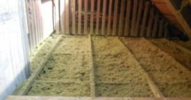 zateplení a vytvoření nové pochozí podlahy